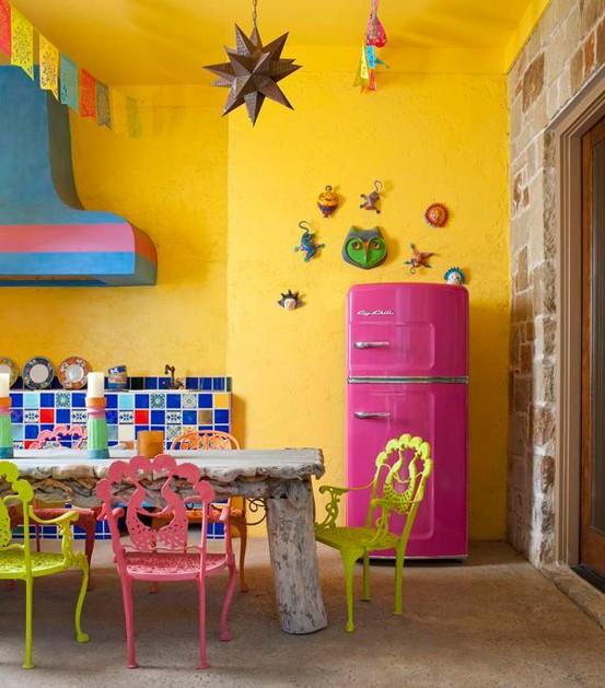 kitchen design colorful - Colorful Kitchen Design