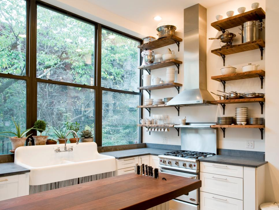 Kitchen Design Ideas Open Shelving kitchen design ideas for creative storage solutions - kitchen