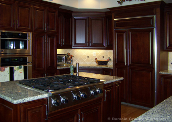 Perfect Mahogany Versus Cherry Wood For Kitchen Cabinets In NJ U0026 NYC   Kitchen  Cabinet Installation And Replacement   Kitchen Contractor NJ And NYC