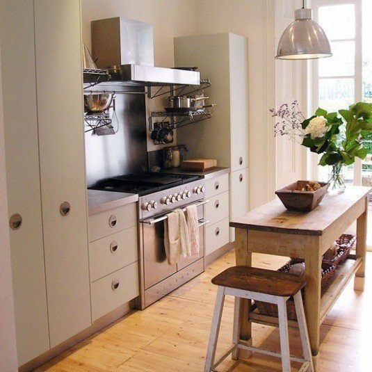 small-kitchen-design-custom-tall-cabinets
