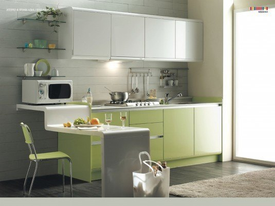 small-kitchen-design-open-floor-space