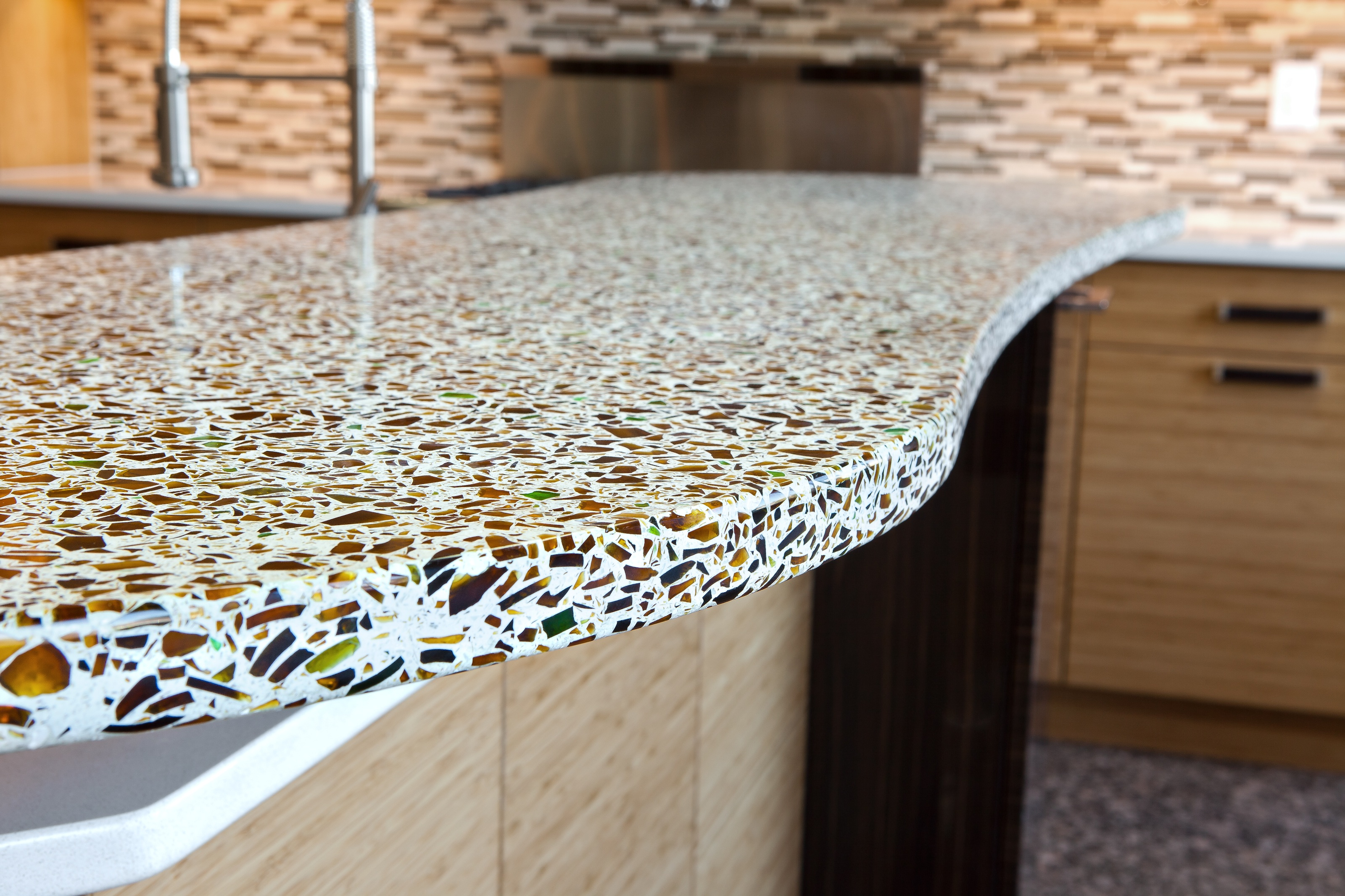 6 ecofriendly countertops for sustainable kitchen design for Best material for kitchen counters