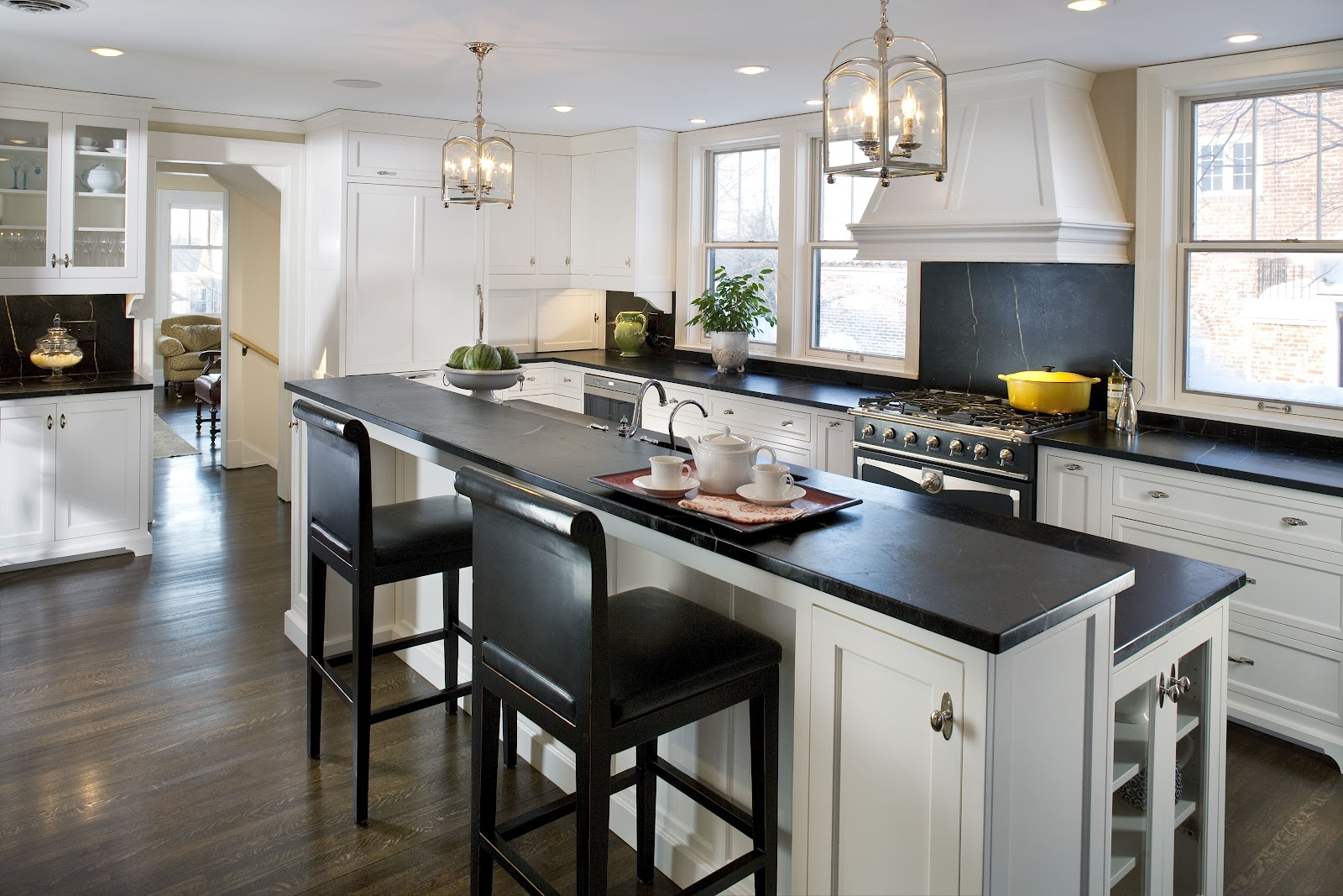 Kitchen Design Soapstone Counters