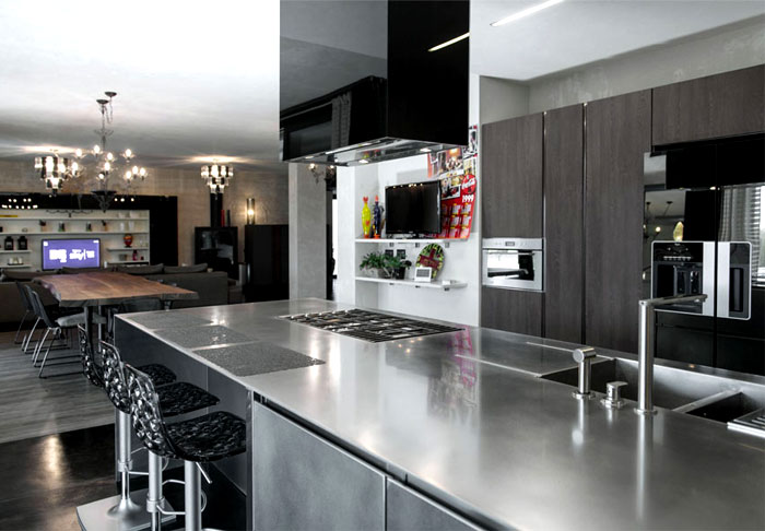 kitchen-design-stainless-steel-counters