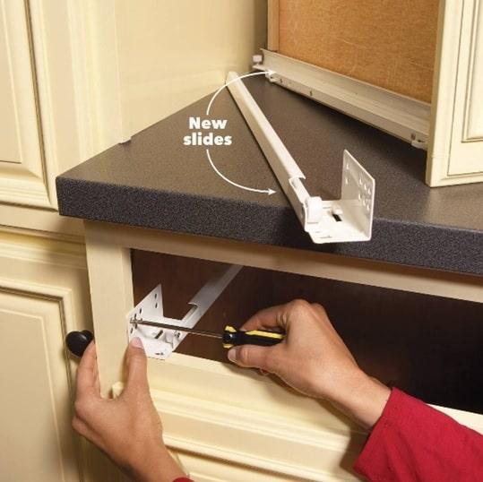 Cabinet maintenance