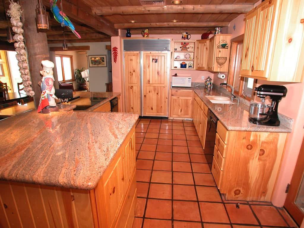 Home Decorating Dilemmas Knotty Pine Kitchen Cabinets