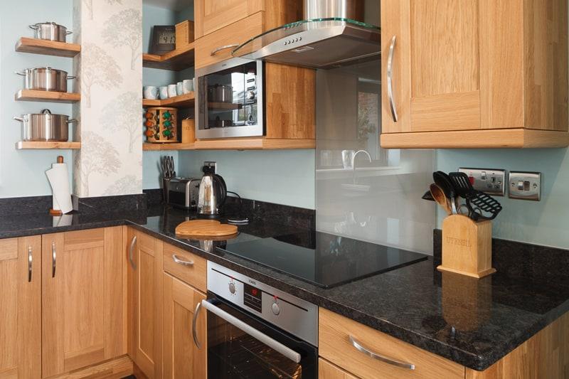 Teak Oil in Kitchen Cabinet
