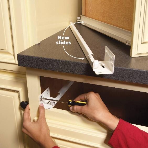 Cabinet Repair and Maintenance